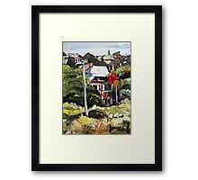 Windsor Hillside Framed Print