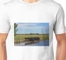 Angus Cow's at the Watering Hole Unisex T-Shirt