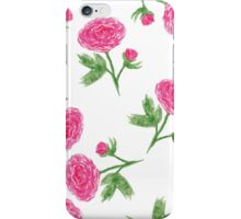 Peony pink iPhone Case/Skin