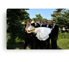 Wedding 12 Canvas Print