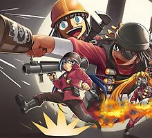 anime tf2 by Paul Bauer