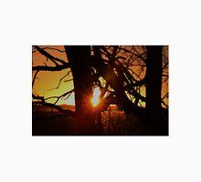 Dead Tree Sunset in Kansas Unisex T-Shirt