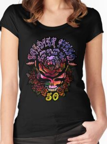Soldier Field Women's Fitted Scoop T-Shirt