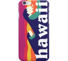 Hawaii - Hawaiian waves iPhone Case/Skin