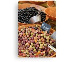 Ripe Olives Canvas Print