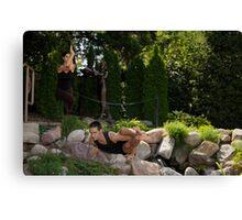 Yoga 3 Canvas Print