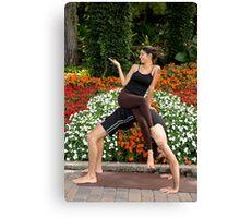 Yoga 5 Canvas Print