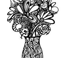 Valentines Vase by MelDavies