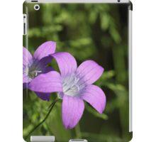 Spreading Bellflower (Campanula patula) iPad Case/Skin