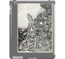 My City Driven by Fire Into the Sea iPad Case/Skin