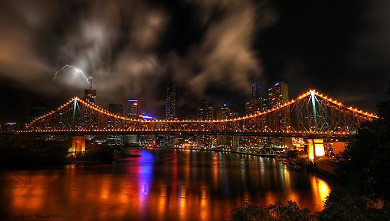 Story Bridge - Brisbane by Adam Gormley