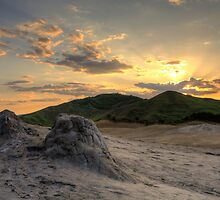 Mud Volcanoes Buzau  by Bogdan Ciocsan