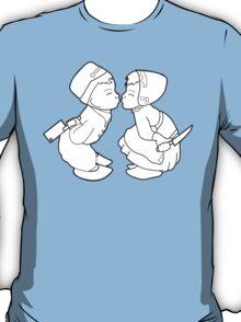 Drifter Threads: Kissing Dutch Kids T-Shirt