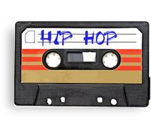 Hip Hop  Music Cassette tape Canvas Print