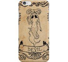 Mermaid Tarot: The Devil iPhone Case/Skin