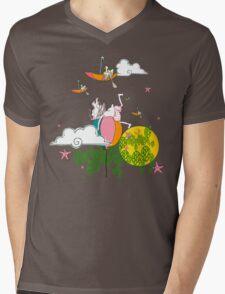 Row your boat Mens V-Neck T-Shirt