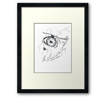 The Mausoleum of All Hope and Desire Framed Print