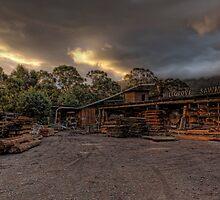 Millgrove Sawmill • Victoria • Australia by William Bullimore