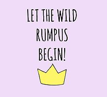 Let The Wild Rumpus Begin! by sunnysketches