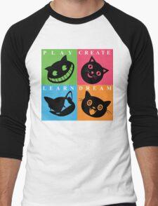 Cat Mode Men's Baseball ¾ T-Shirt