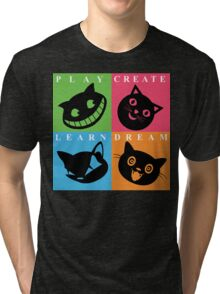 Cat Mode Tri-blend T-Shirt