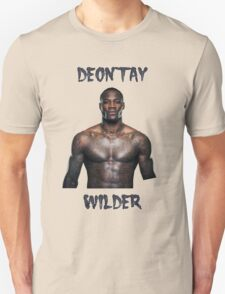 Deontay Wilder Heavyweight boxer Unisex T-Shirt