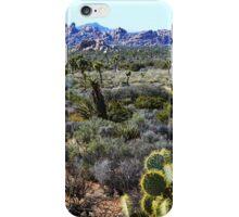 Random Wilderness, Joshua Tree National Park iPhone Case/Skin