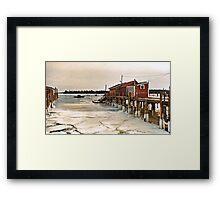--Friendship Harbor, Maine -- Framed Print