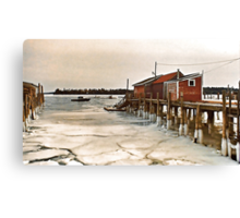 --Friendship Harbor, Maine -- Canvas Print