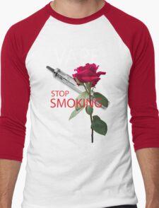 Vape. Stop smoking Men's Baseball ¾ T-Shirt