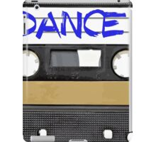 Dance Music Cassette Tape  iPad Case/Skin