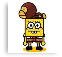 spongebob and baby milo Canvas Print