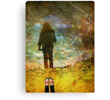 And Then He Turned Her World Upside Down Canvas Print