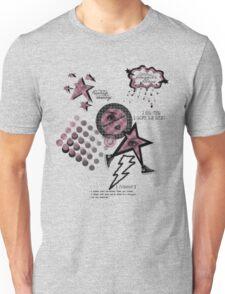 Friends Laughter & Tears Mauve Unisex T-Shirt