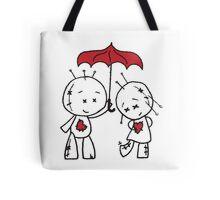 VooDude - I Love The Rain Tote Bag