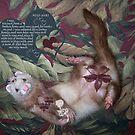Pinup Ferret by Glenna Walker