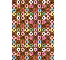Donut Round Photographic Print