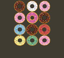 Donut Round Womens Fitted T-Shirt