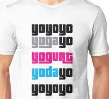 Sips Yoga Yogurt Yoda Unisex T-Shirt
