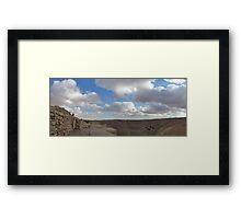Ash Shubak Castle Jordan Framed Print