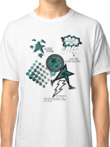 Friends Laughter & Tears-Teal Classic T-Shirt