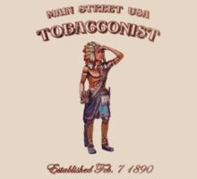 Walt Disney World Main Street USA Tobacconist Indian by The Department Of Citrus