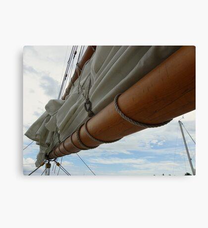 Tall Ship - Peace Maker Canvas Print
