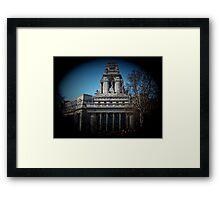 Mariners' Memorial, London Framed Print