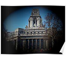Mariners' Memorial, London Poster