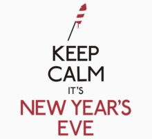 Keep calm it's new year's eve Kids Clothes