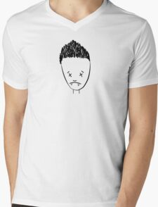 Spikes drawing of Angel - (TANK/SCOOP TOP) Mens V-Neck T-Shirt