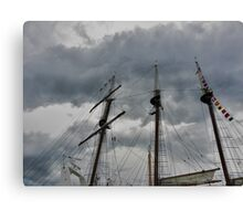 Tall Ship - Peace Maker2 Canvas Print