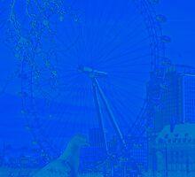 The London Eye and Friend by Al Bourassa