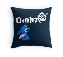 Stitch - Ohana Throw Pillow